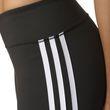adidas Damen Sport Fitness D2M Three-Quarter 3/4 Pant 3 Streifen Tight schwarz weiss Bild 3