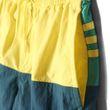 adidas Kinder Badeshort youth 3 stripes colorblock short middle lengh gelb grün Bild 4