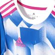 adidas Kinder Trainings Fussball Trigot Tango Cage Graphic Jersey Y weiss blau Bild 3