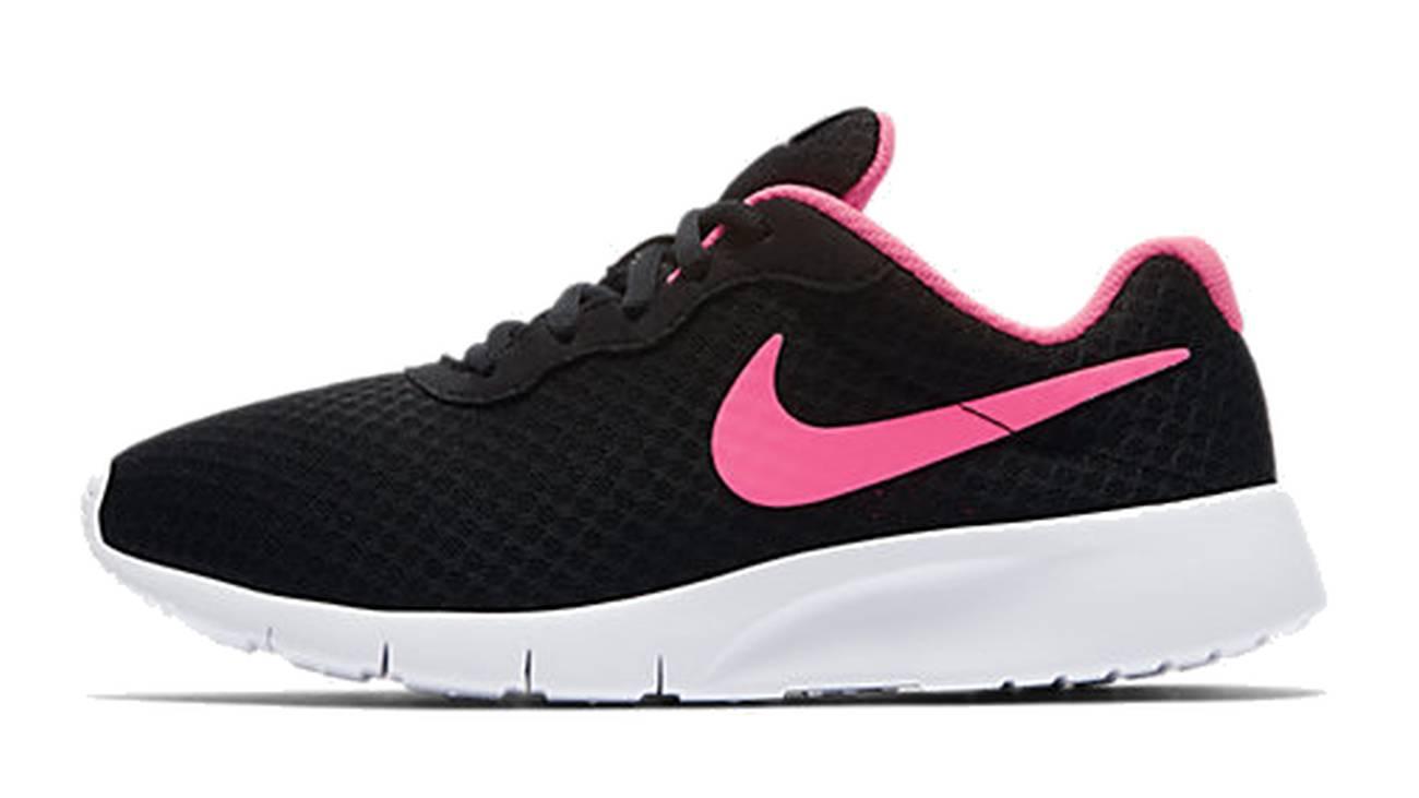 Nike Tanjun Freizeitschuh Kinder schwarz weiß