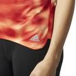 adidas Damen Laufshirt Fitness T-Shirt Response SS Graphic Tee W easy orange Bild 4
