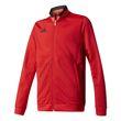 adidas Kinder Fussball Präsentationsanzug Condivo 16 Polyester Suit rot schwarz Bild 2