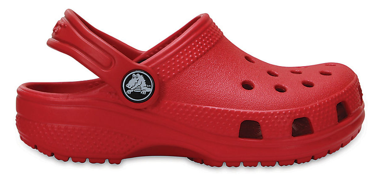 crocs kinder sport freizeit clog kids 39 classic clog rot ebay. Black Bedroom Furniture Sets. Home Design Ideas