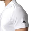 adidas Herren Sport Freizeit Polo Shirt Essentials Basic Base Polo weiß Bild 4