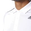 adidas Herren Sport Freizeit Polo - Shirt Design 2 Move Polo 3 Stripes weiß Bild 6