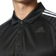 adidas Herren Sport Freizeit Polo - Shirt Design 2 Move Polo 3 Stripes schwarz Bild 6