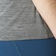 adidas Damen Fitness Training Sport T-Shirt FREELIFT TEE grau Bild 6