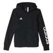 adidas Mädchen Trainings Kapuzenjacke Essentials Linear Full Zip Hoodie schwarz