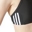 adidas Damen Sport Freizeit Essence Core 3- Stripes Bikini schwarz weiß Bild 6