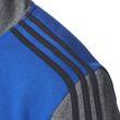 adidas Herren Freizeit Sport Trainingsanzug Cotton Relax Tracksuit 3S blau grau Bild 5
