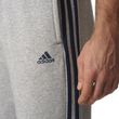 adidas Herren Trainingshose Essentials 3S Regular Fit Fleece Pant grau blau Bild 5