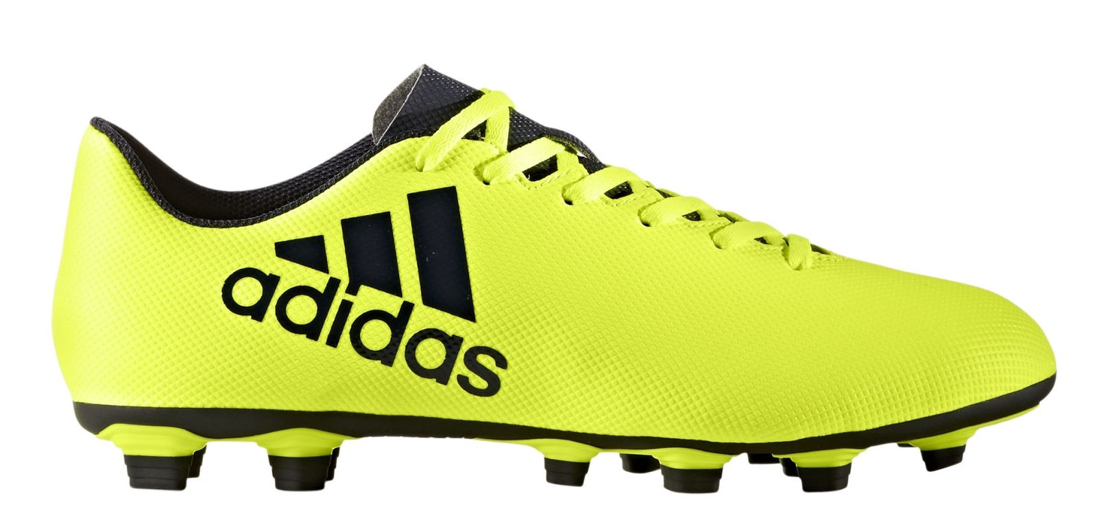 best authentic f81e0 7abbc cam fútbol botas X 17.4 FxG amarillo   negro Adidas performance hombres