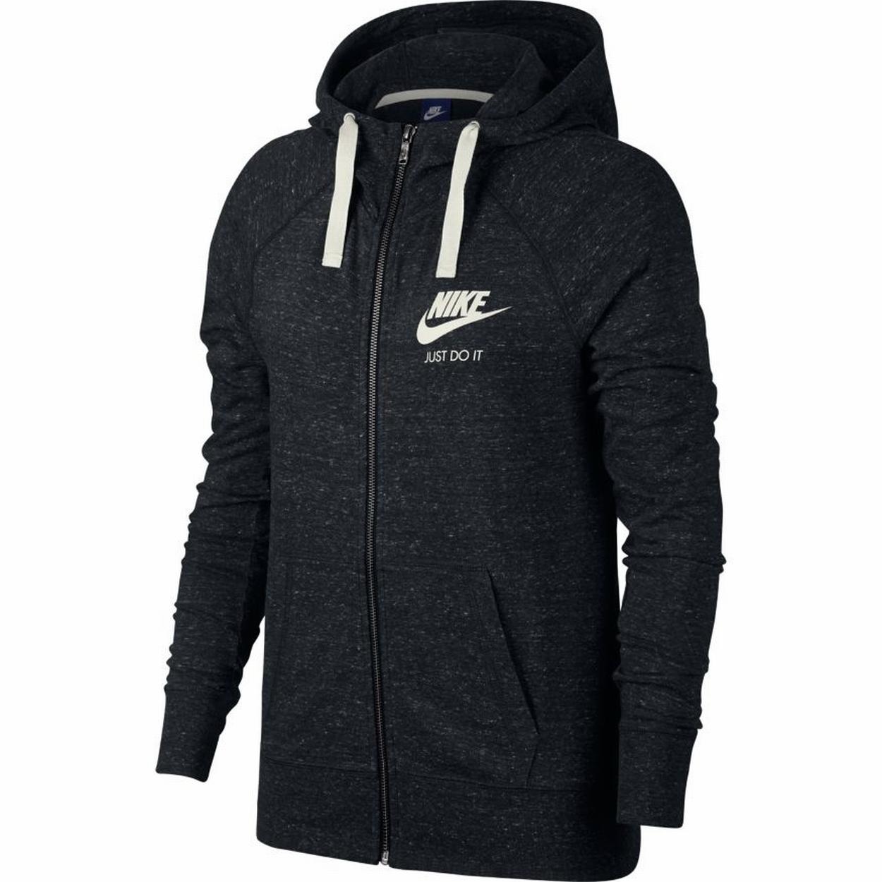 Nike sweatshirt jacke damen schwarz