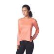 adidas Damen Laufshirt langarm T-Shirt Response LS Tee W sun glow Bild 4