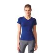 adidas Damen Fitness Training Sport T-Shirt FREELIFT TEE Mystery Ink Bild 1