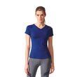 adidas Damen Fitness Training Sport T-Shirt FREELIFT TEE Mystery Ink