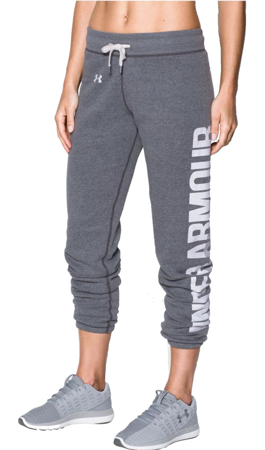 under armour damen sport trainings hose ua favorite fleece pant grau. Black Bedroom Furniture Sets. Home Design Ideas