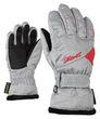 Ziener Kinder Ski Handschuh LARA GTX® GIRLS grau