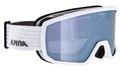 Alpina Erwachsene Skibrille Ski Brille SCARABEO white HM silver weiß