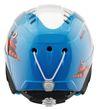 Alpina Carat Kinderskihelm Ski Helm snowcat weiß blau Bild 2