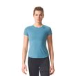 adidas Damen Sport Fitness Shirt PRIME TEE MIX tacticle stelle blau