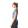 adidas Damen Sport Fitness Shirt PRIME TEE MIX tacticle stelle blau Bild 3