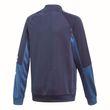 adidas Kinder Sport Trainingsanzug Linear Tracksuit Closed Hem indigo weiß Bild 4