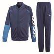 adidas Kinder Sport Trainingsanzug Linear Tracksuit Closed Hem indigo weiß Bild 7