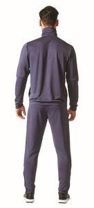 adidas Herren Sport Fitness Trainingsanzug Tiro Tracksuit blau