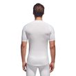 adidas Herren Fitness Sport Shirt Alphaskin Compression T-Shirt UV 50+ weiss Bild 2