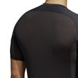 adidas Herren Fitness Sport Shirt Alphaskin Compression T-Shirt UV 50+ schwarz Bild 5