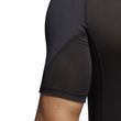 adidas Herren Fitness Sport Shirt Alphaskin Compression T-Shirt UV 50+ schwarz Bild 6