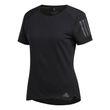 adidas Damen Laufshirt RESPONSE SHORT SLEEVE TEE WOMEN schwarz Bild 7