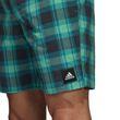 adidas Herren Badeshort CHECK SHORT SH ML grün kariert Bild 4