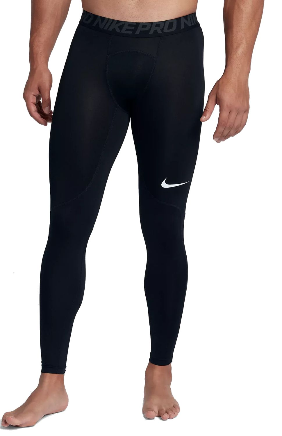 Nike Herren Trainings Fitness Hose NIKE PRO TIGHT schwarz | eBay