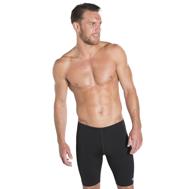 Herren-Schwimmsport-Produkte Jammer Men Black 2019 Badehose schwarz Schwimmen speedo Essential Endurance