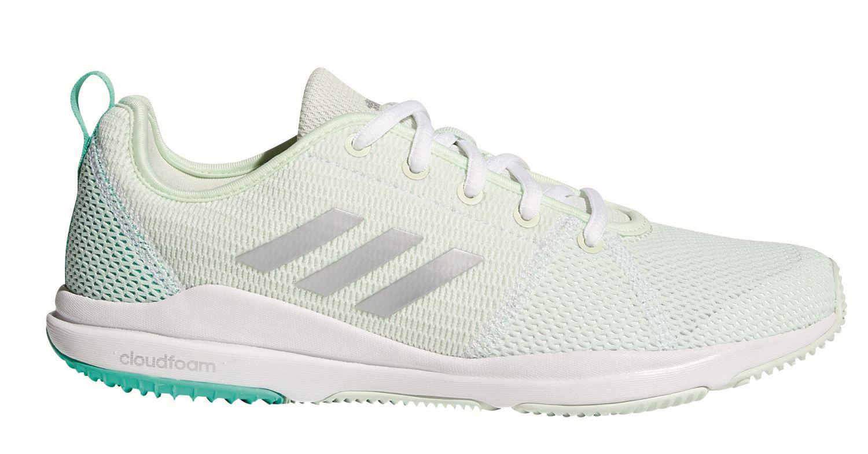 adidas Damen Fitness Freizeit Schuh Arianna Cloudfoam W grün weiß