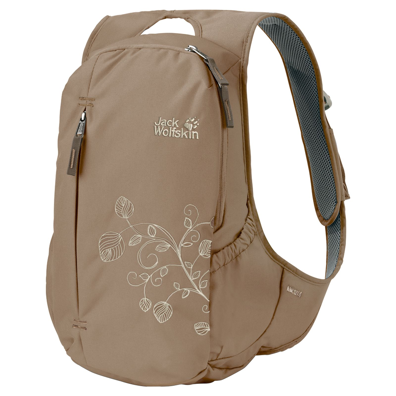 jack wolfskin damen tagesrucksack ancona beige ebay. Black Bedroom Furniture Sets. Home Design Ideas