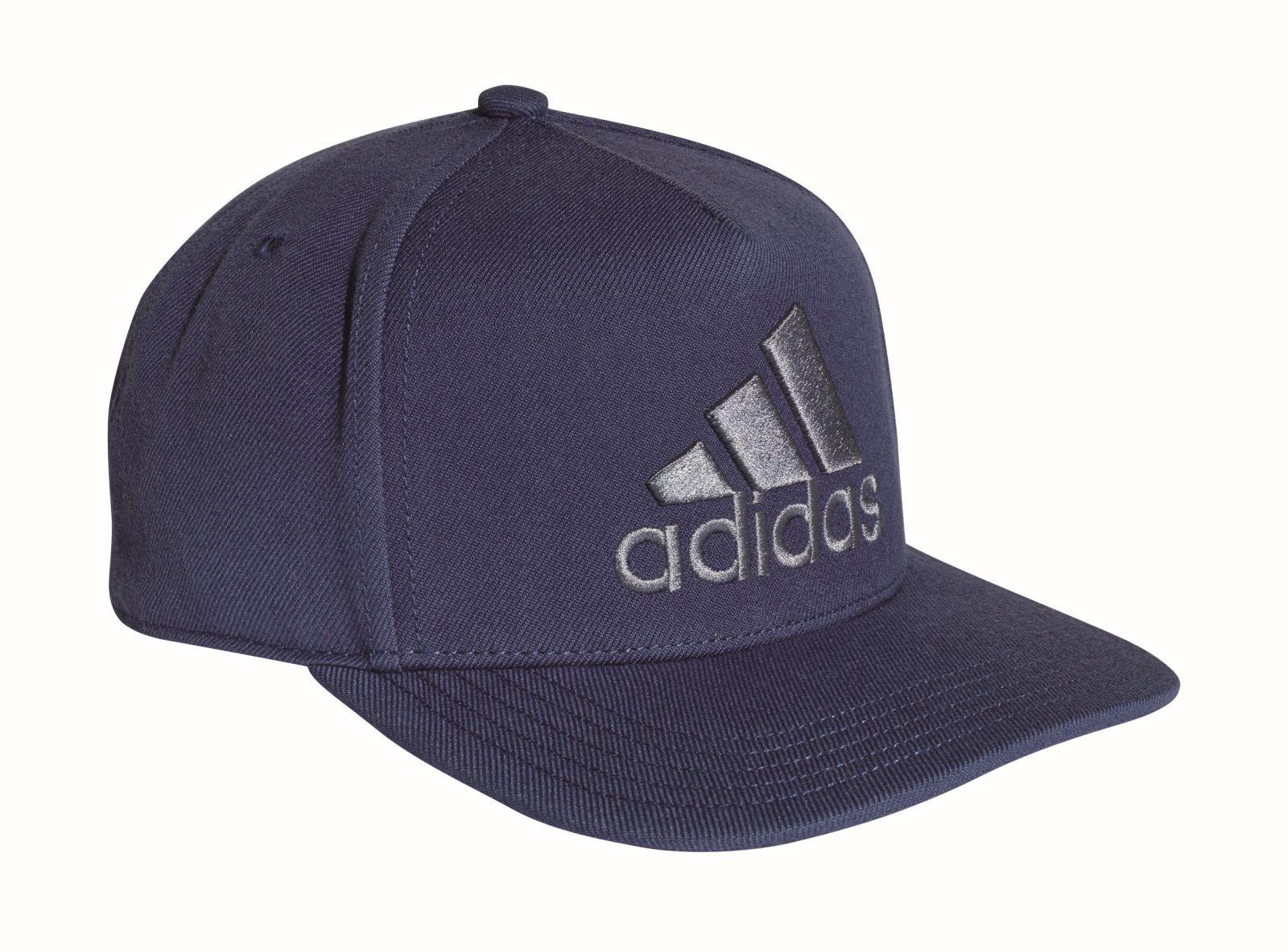 adidas herren sport freizeit basecap h90 logo cap blau indigo. Black Bedroom Furniture Sets. Home Design Ideas