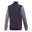 adidas Kinder Sport-Trainingsanzug Tiberio Tracksuit Closed Hem schwarz grau Bild 3