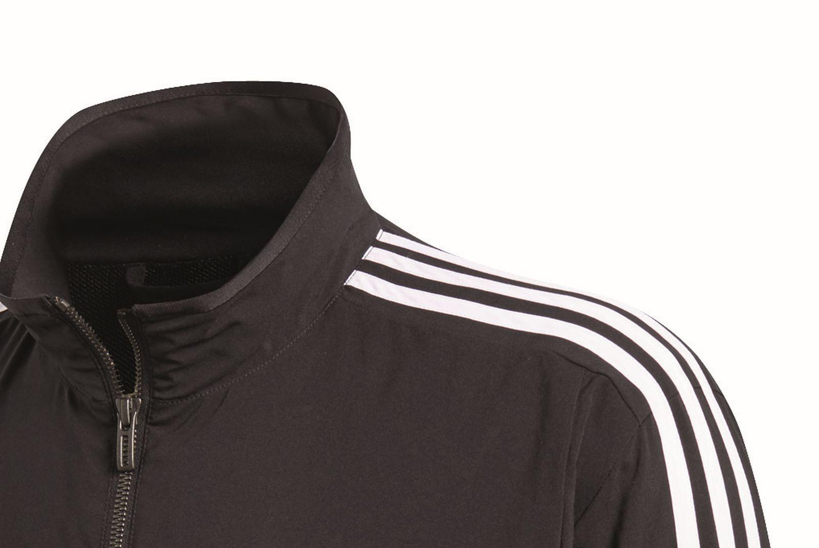 ba840a25f8 adidas Performance Herren Trainingsanzug 3S Woven Light Tracksuit schwarz  weiß