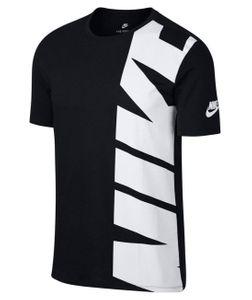 Nike Herren M NSW Hybrid 1 T Shirt  LWhite Navy