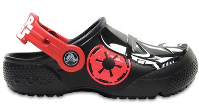 Crocs Kinder Sport Freizeit Clog Kids' Crocs Fun Lab Stormtrooper™ Clog schwarz