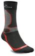 Meindl Damen Herren air Revolution Dry Outdoor & Funktions- Socken schwarz rot