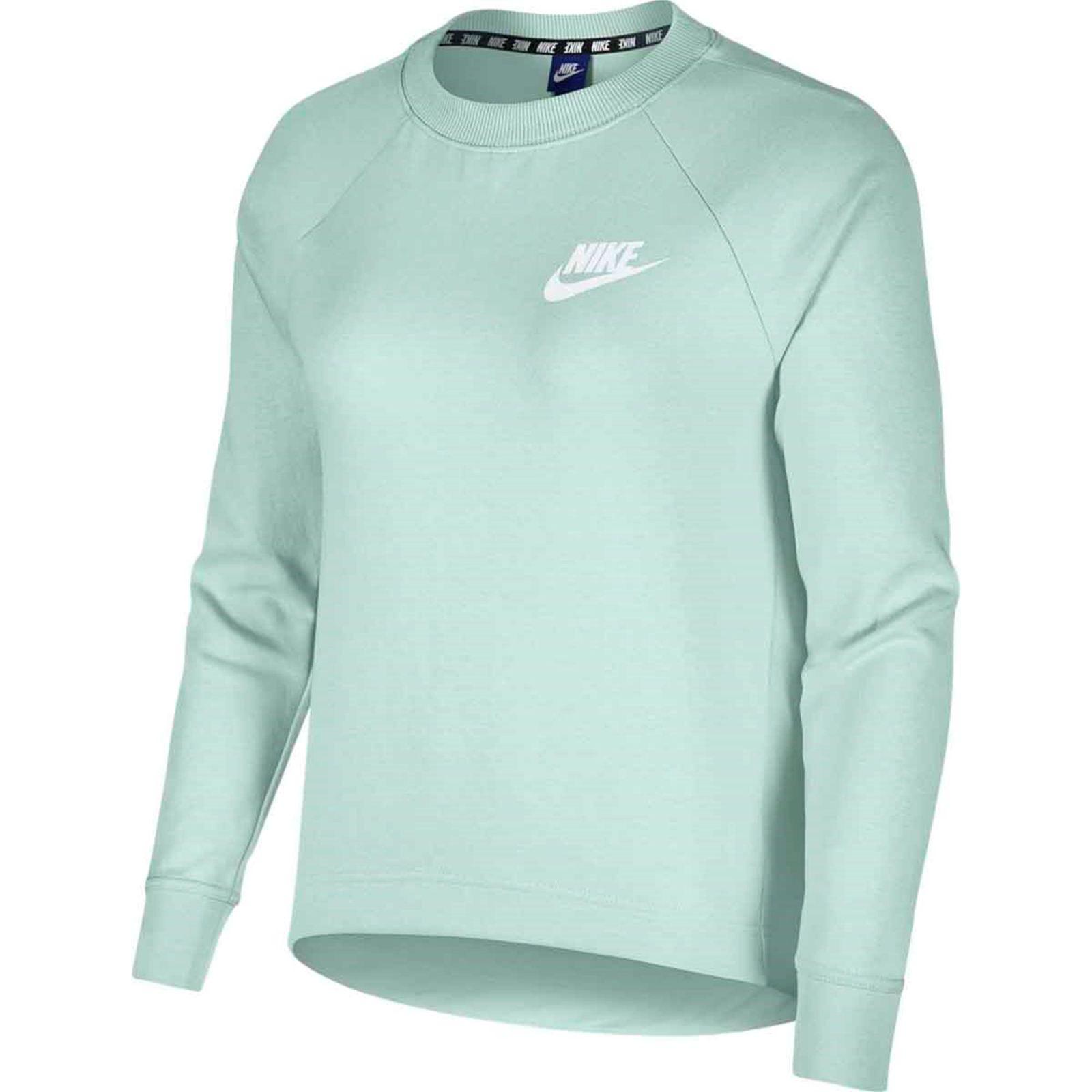Details zu Nike Damen Sport Fitness Sweatshirt NSW AV15 CREW grün 797a26b84f
