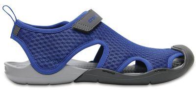 Crocs Damen Sport Freizeit Sandale Women's Swiftwater Mesh Sandals blau
