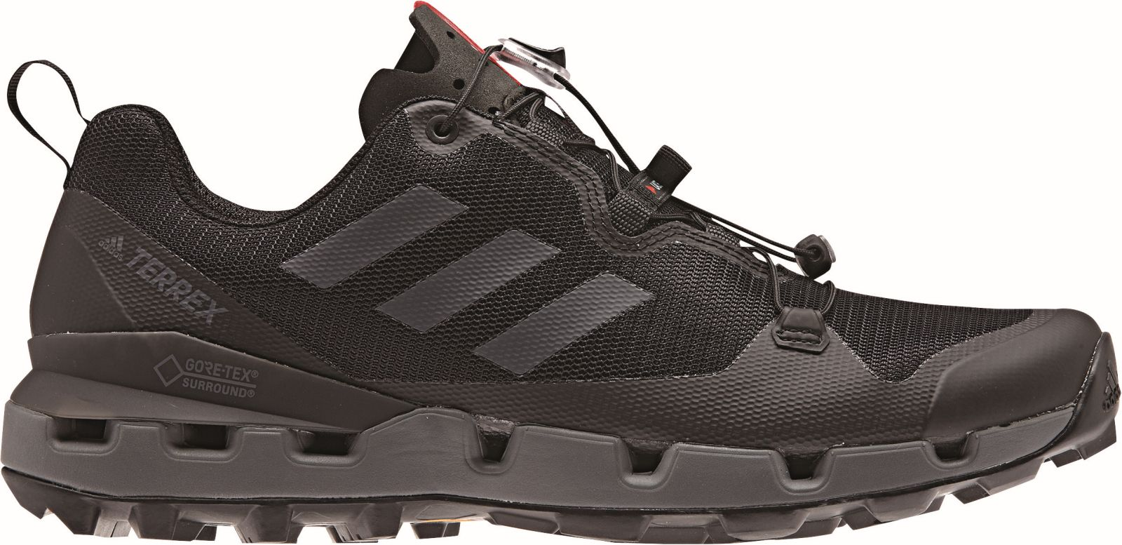 Details zu adidas Performance Herren Outdoor Wander Schuh TERREX FAST GTX SURROUND schwarz