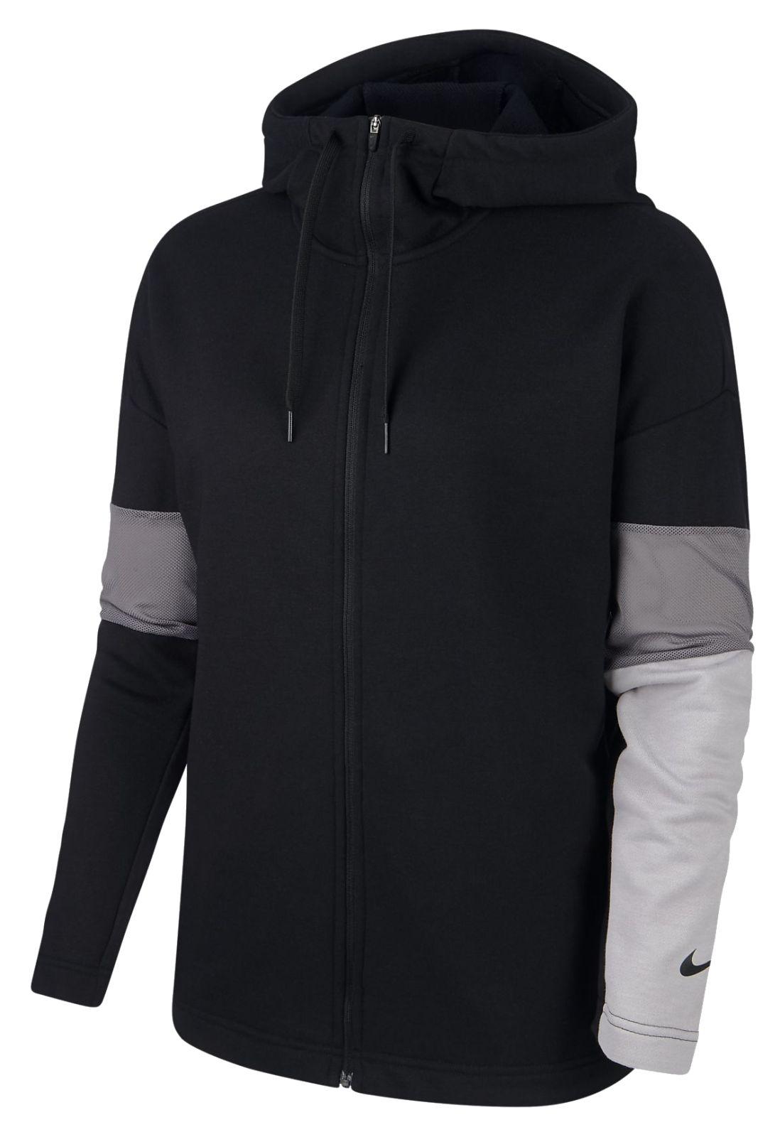 nike sweatshirt jacke damen grau modische jacken 2018 2019. Black Bedroom Furniture Sets. Home Design Ideas