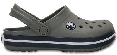Crocs Kinder Sport Freizeit Clogs Kids' Crocband™ Clog grau blau
