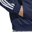 adidas Herren Freizeit Trainingsjacke Essentials Track Jacket Tricot collegiate navy weiß Bild 7